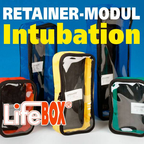 LifeBOX Retainer Modul Intubation