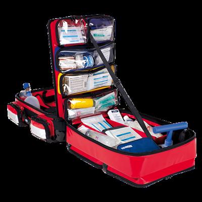 Söhngen PROFiL Notfallrucksack rot gefüllt Modul A+C+O2 1L