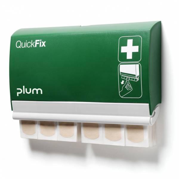Plum QuickFix Pflasterspender mit 90 elastischen Pflastern, 7,2x 2,5cm