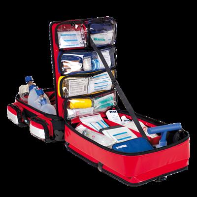 Söhngen PROFiL Notfallrucksack rot gefüllt Modul A+B+C