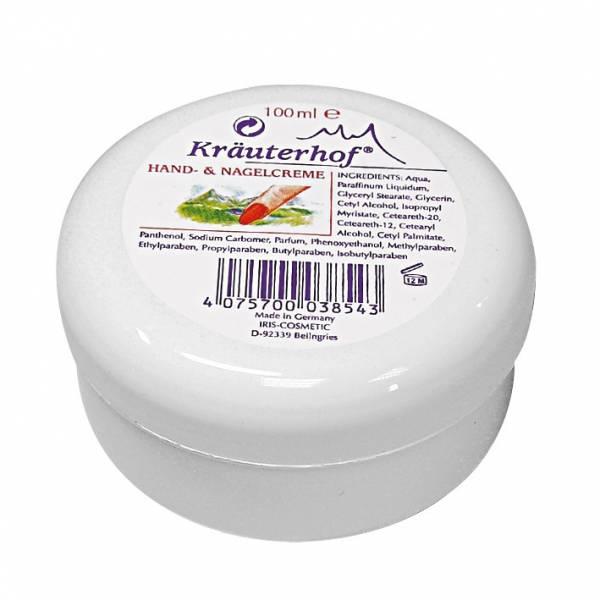 Kräuterhof® Hand- und Nagelcreme 100 ml