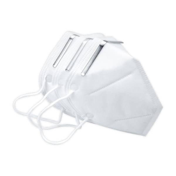 FFP2 Atemschutzmaske gefaltet CE geprüft - LAGERWARE -