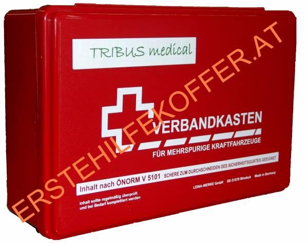 Autoverbandkassette rot gemäß ÖNORM V 5101