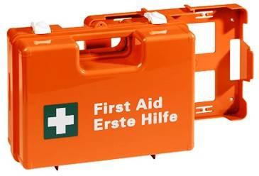 Erste Hilfe Koffer Typ 1, Leer, orange