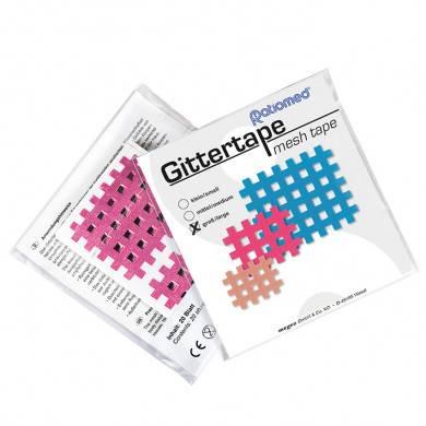 Gittertape ratiomed 52 x 44 mm, pink/groß (20 Blatt à 2 Pflaster)