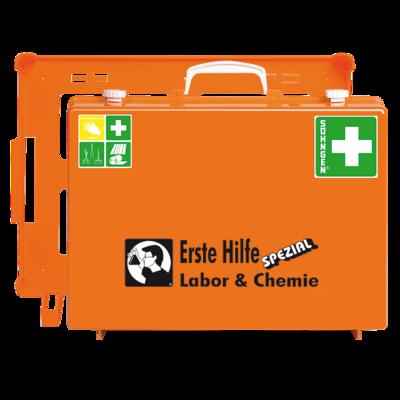 Söhngen Erste Hilfe Koffer Labor & Chemie ÖNORM Z 1020 plus Erweiterung Labor & Chemie