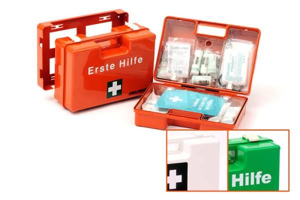 Erste Hilfe Koffer Typ 1 inkl. Komplettfüllung ÖNORM Z1020, orange