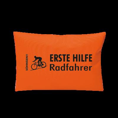 Erste Hilfe Radfahrer orange
