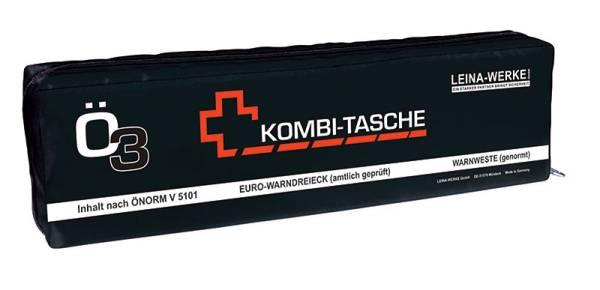 "Kombitasche schwarz ÖNORM ""Ö3 Euro groß"" (3-teilig)"