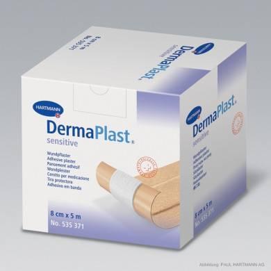 DermaPlast® sensitive 5 m x 8 cm Rollenpflaster