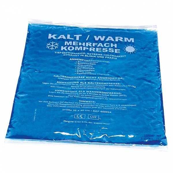 Kalt-/Warm-Kompresse, blau, 30 x 40 cm, 5 Stück Multipack