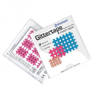 Gittertape ratiomed 27 x 21 mm, pink/klein (20 Blatt à 9 Pflaster)
