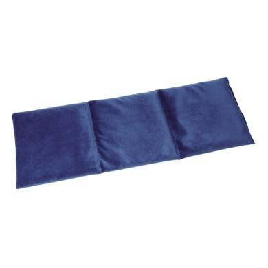 Kryotherm natur Traubenkernkissen, groß, blau, ca. 55 x 20 cm,