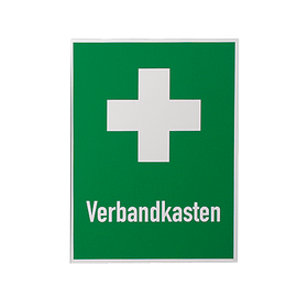 Rettungszeichen 400x300mm Verbandkasten+Kreuz