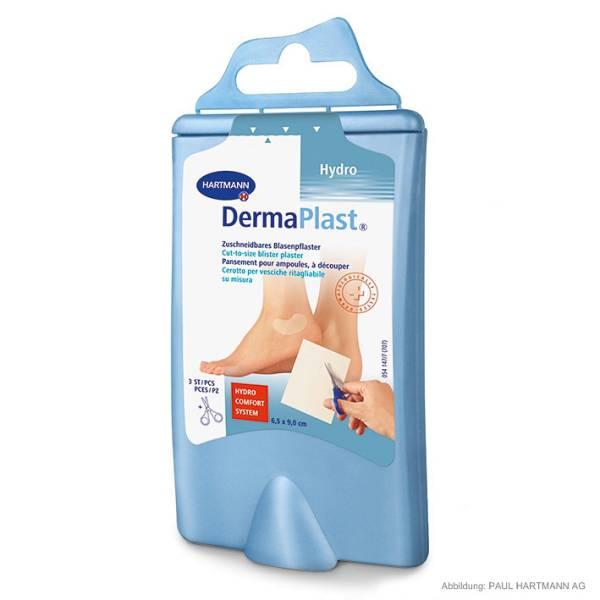 DermaPlast EFFECT Blasenpflaster in Plastikbox, inkl. Schere (3 Stck.)